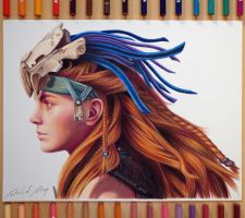 Aloy (Horizon Zero Dawn) | By: David Dias by Daviddiaspr