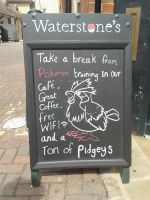 Waterstones Pokemon Break by PurpleBeauty97