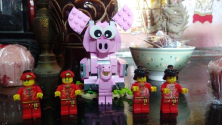 Chinese New Year's Greetings (LEGO) by ThomasAnime