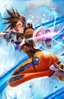 Tracer - Overwatch by longai