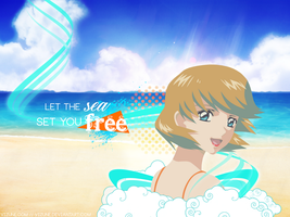 Let the sea set you free by vizune