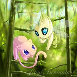 Playtime in the Forest by Jiayi