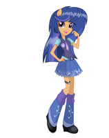 Galaxy Swirls Equestria Girls by Ketrin29