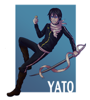 Yato by spectre-draws