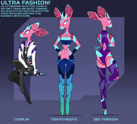 Outfit sheet #1 by PhidippusOfMystery