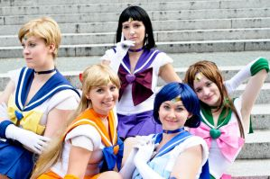 Pretty Sailor Soldiers 2 by tangibletenacity
