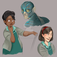 The Shape of Water by MarineElphie
