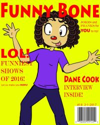 Funny Bone (Fake Magazine Cover) by TheKoolKat4Ever