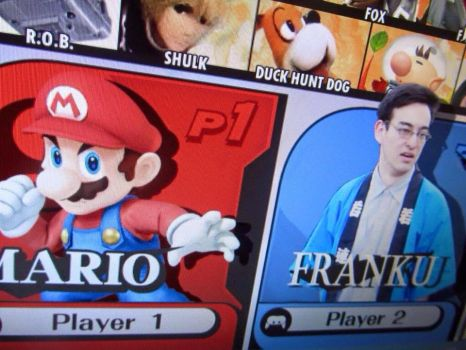Filthy Frank in Super Smash Bros by twistedwhiskercat