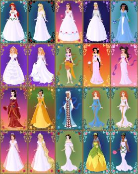 Disney Brides by LadyAquanine73551