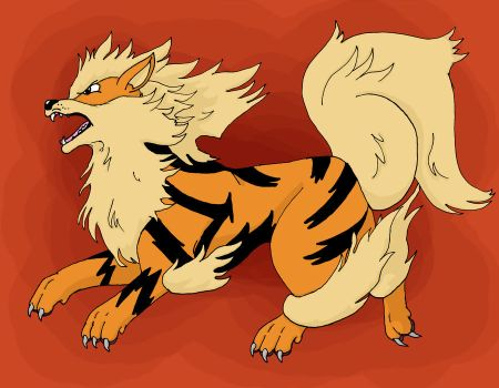 Commission- Arcanine by AutumnDragon1172