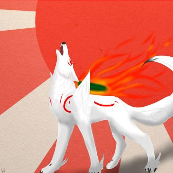 Okami:The sun goddess by Amaterasu-Zelda