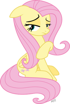 Fluttershy Not Impressed by ABadCookie