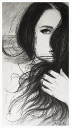 girl.charcoal by AndriyMarkiv