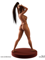 Mai Shiranui - Just Being Sexy by KID3D