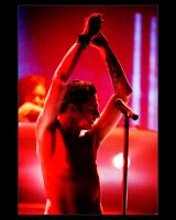 Dave Gahan in Red by abbiewarnock