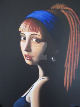 Girl With a Pearl Earring by Blade-of-Glass