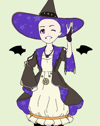 Halloween Anime Girl .:base43:. by CatherineCurse