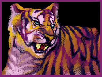 Mike the Tiger by Liabra