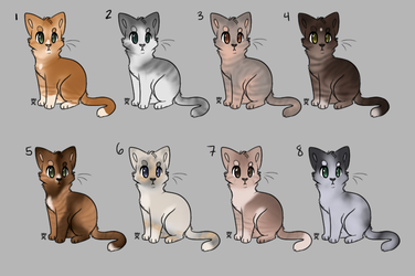 Cat adopts! 100 points [5/8] OPEN!!! by Rosenbriar