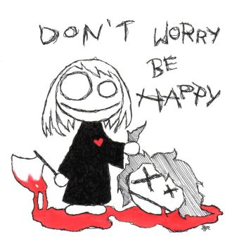.::don't worry be happy::. by P4M