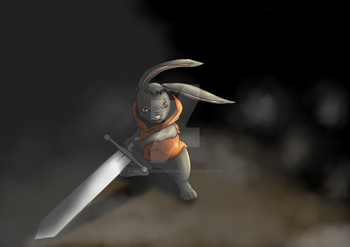 Rabbit N The Blade by MalfinisProductions