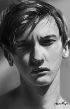Face Foto Study by AeroMuse