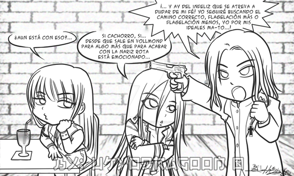 Las Cronicas de Ray Field - Chibis Vollmond by UkyoDragoon