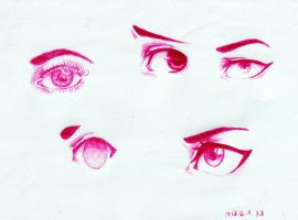 Eye Practice by epresvanilia