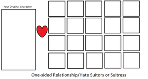 One sided Relationship/Hate Suitors v2 by Dragonprince18