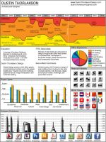 Infographic Resume by DustinThorlakson