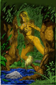 Jungle Girl by Halicron