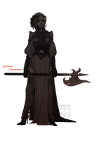[closed] Adopt - Carmine Axewoman by fionadoesadopts