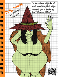 Thick Witch by JosephPMorgan