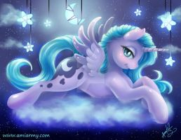 Luna in the sky by Amelie-ami-chan
