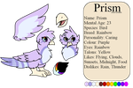 Prism Reference Sheet (Main Colours) by MinoesTheKitty