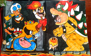 Bowser Battle by GreenLightning57
