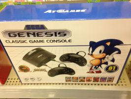 Sega Genesis Classic Console w/81 games built in by dth1971