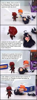 Here Comes Deadpool (Pg 2) by Chocolate-Spider