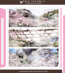 'pack texture' blossom in Japan by Jynosawffuenp