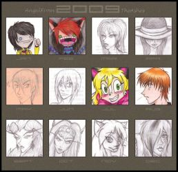 Art Summary '09 by AngelFromTheAshes