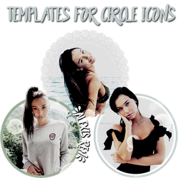 Templates for Circle Icons by ResourcesForWWE