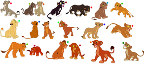 FREE !!!!!!!!!!!!!!!!! lion cub adoptables 8 by knowitall123-adopts