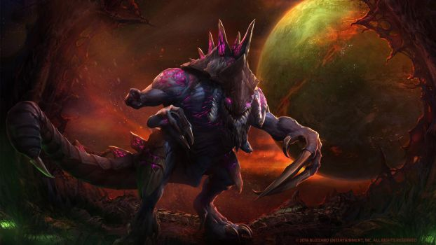 Dehaka, Primal Pack Leader by Mr--Jack