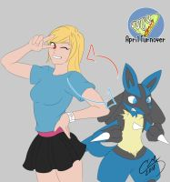 April Turnover - Aura Swap by CM-The-Artist