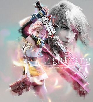 Final Fantasy: Lightning by FunnyDreamerxMegu