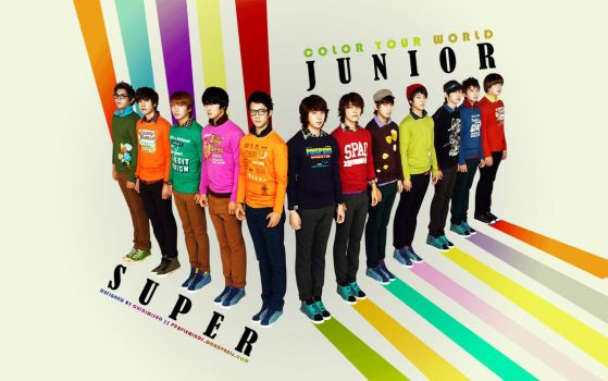 Super Junior - Color Your World by chibimisao