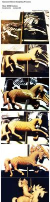 Carousel Horse Sculpting Process by sculptor101