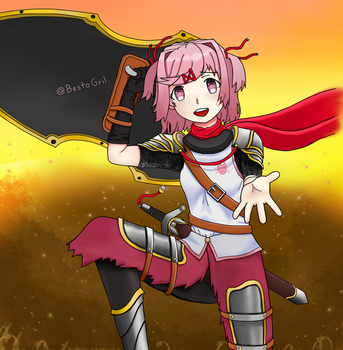 Knightsuki by BestoGril