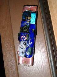 Dichroic-glass Mezuzah by Yuugi-chan